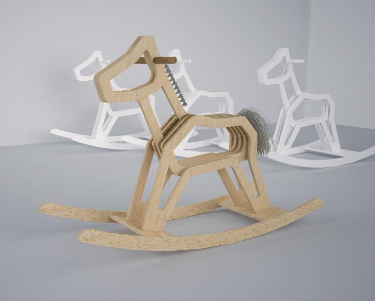 Лошадка качалка своими руками чертежи из фанеры
