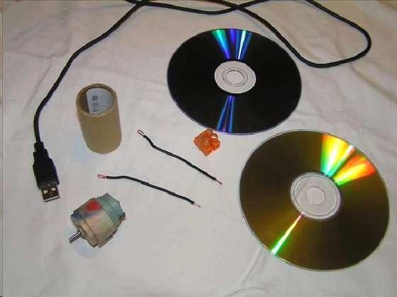 Делаем настольный USB вентилятор своими руками Сделай Сам www.sdelay.tv