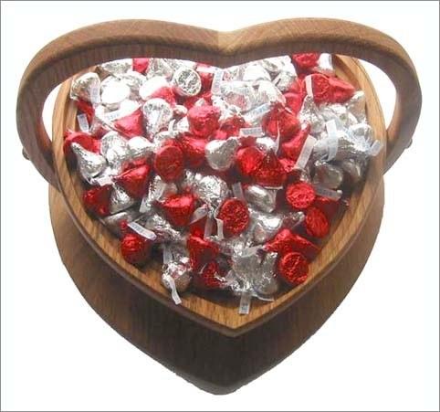 Ваза из конфет своими руками