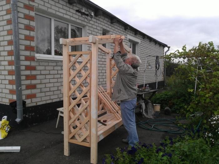 Сделай сам арку в саду своими руками