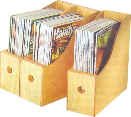 Коробки для журналов своими руками