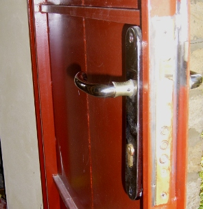 Как сделать входную дверь купе