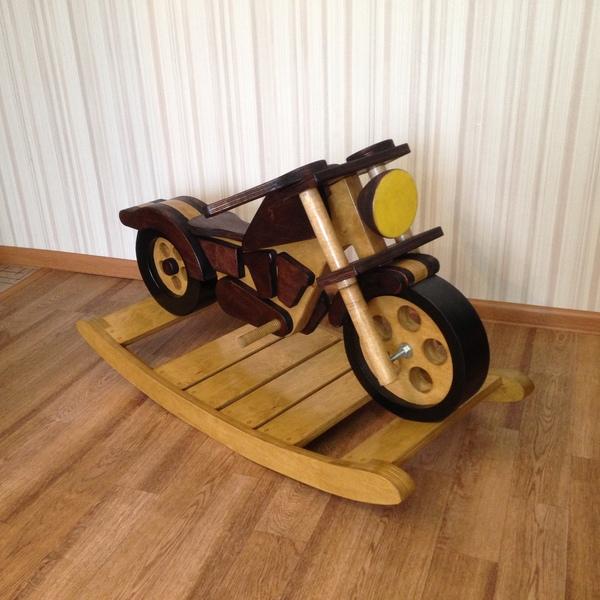 Мотоцикл из фанеры своими руками 62