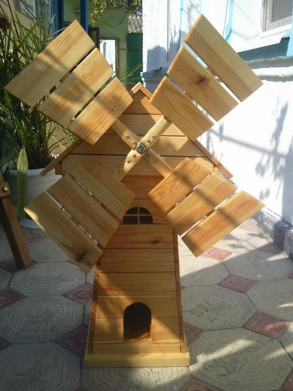 Схема мельницы для сада