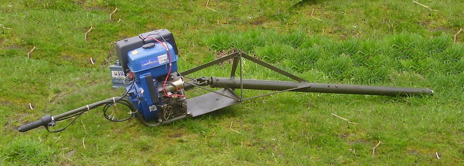 Самодельный лодочный мотор из бензопилы Сделай Сам www 51