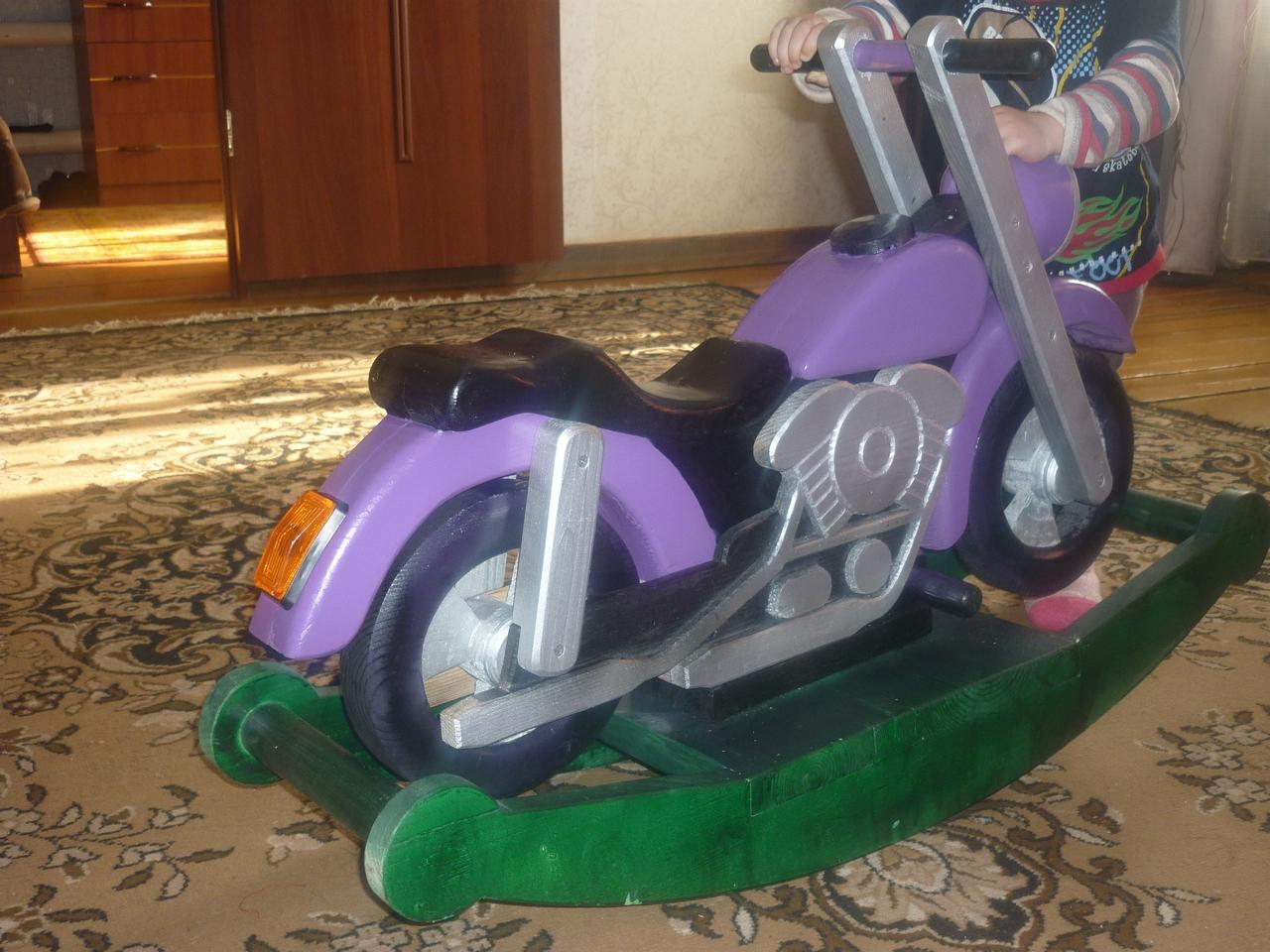 Детский мотоцикл своими руками 100