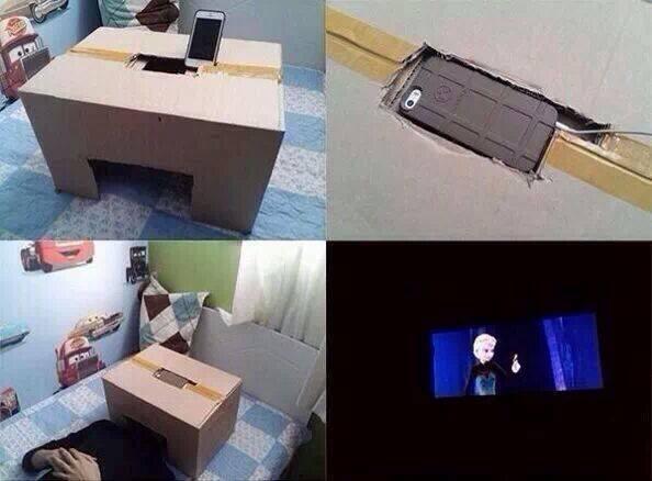Как сделать самому кинотеатр
