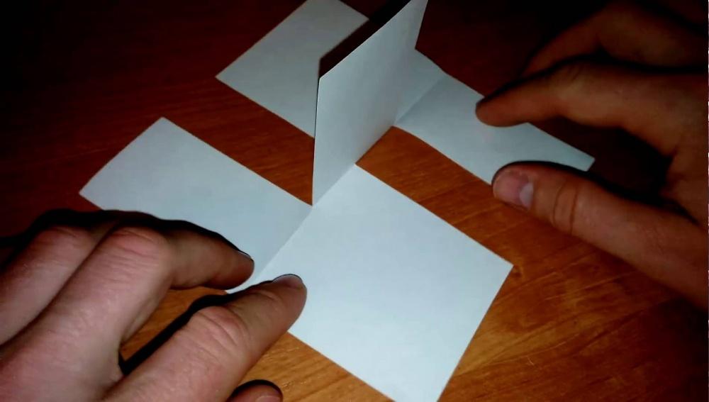 Как сделать трюки из бумаги 651