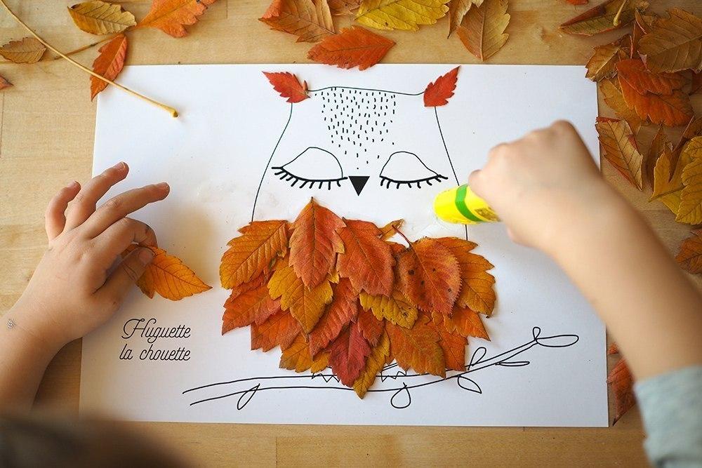 Поделка на тему осень с ребенком 53