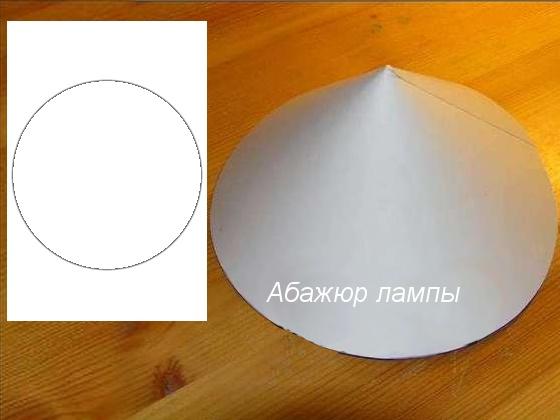 Сделать абажур для настольной лампы своими руками фото
