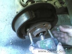 Как самому заменить подшипник ступицы заднего колеса на ВАЗ 2114, ВАЗ 2115, 2110, 2111