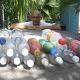 собираем бутылки для дальнейшего строительства