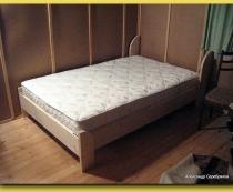 Самодельная двуспальная кровать