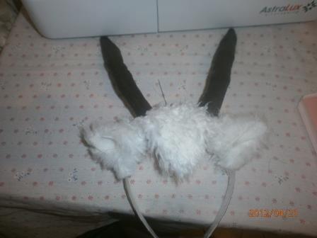 Как сделать рога козлёнка