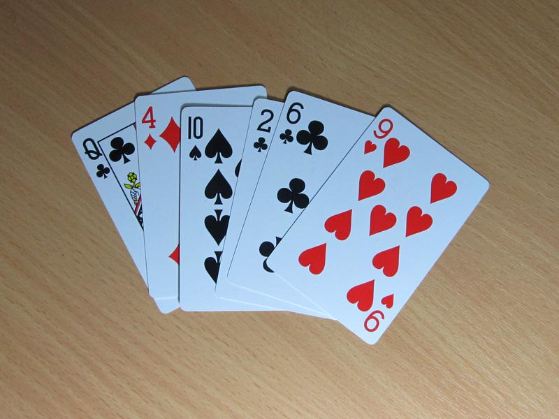 Карты для покера своими руками