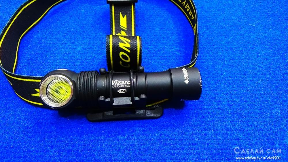 Мощный фонарь для туризма Armytek Wizard Pro Magnet USB+