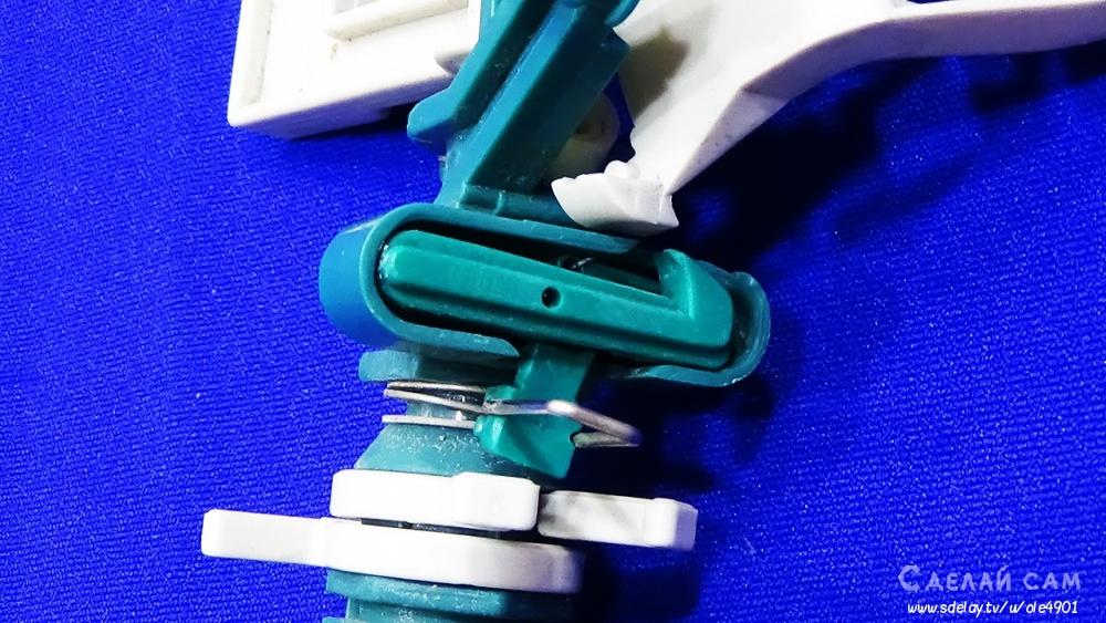 Импульсный разбрызгиватель RACO пластиковый-2 года работы