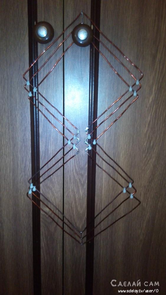 Изготовление антенны харченко своими руками