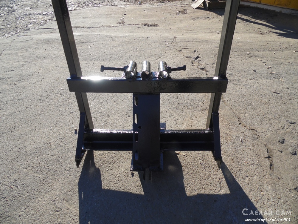 Универсальная усиленная рама для мотоблока Brait-58 Daman-58