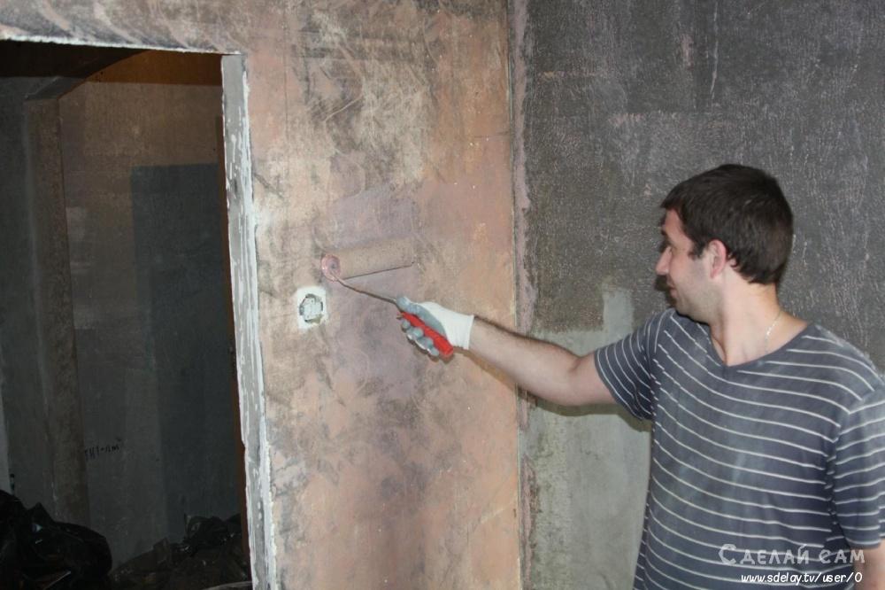 Как наносить декоративную штукатурку на стену? Подготовка поверхности