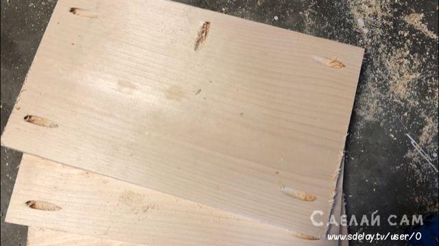 Придиванная тумбочка из дерева своими руками