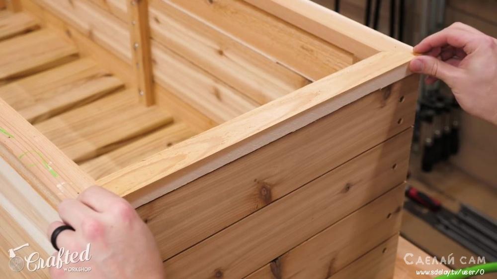 Деревянные вазоны/клумбы в стиле loft своими руками