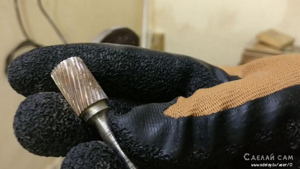 Необычный нож своими руками