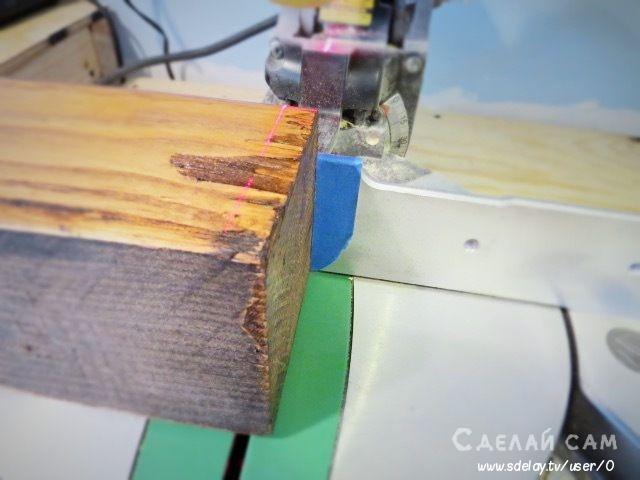 Декоративная настенная плита из дерева своими руками