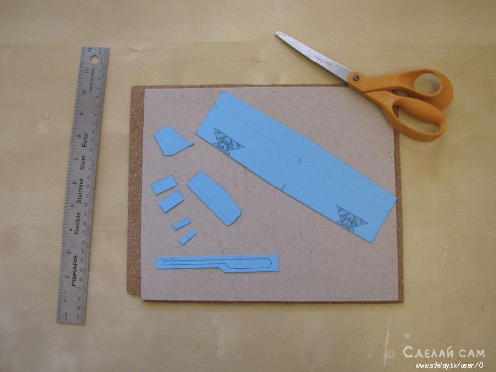 Бумажный планер своими руками