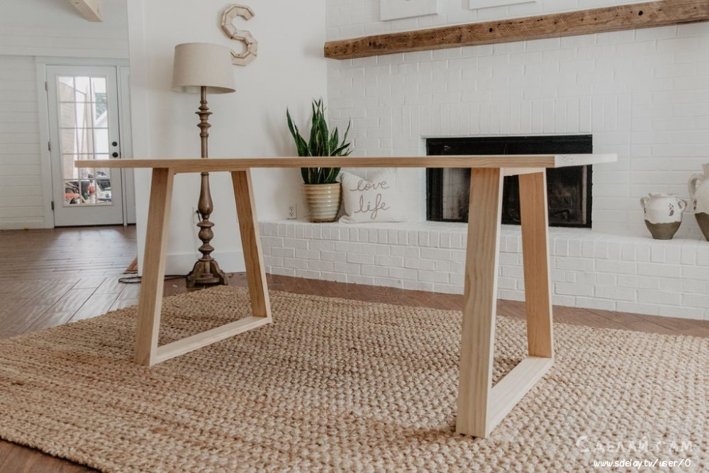 Стол в стиле модерн своими руками