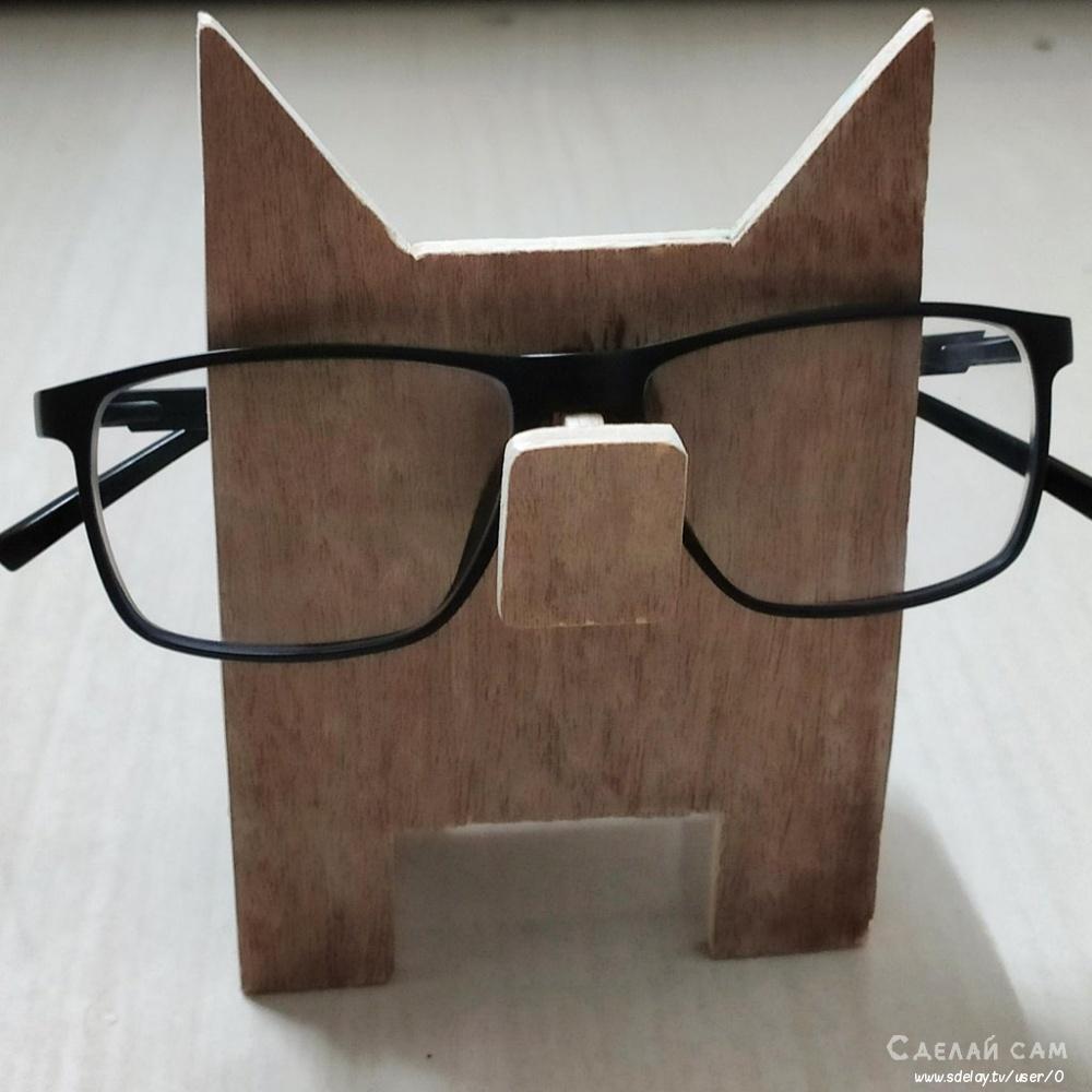 Подставка для очков своими руками