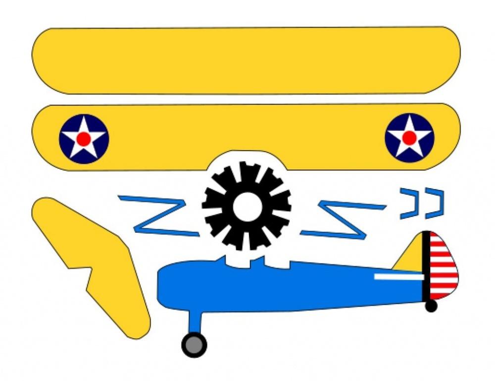 Самолетик из картона с электродвигателем своими руками