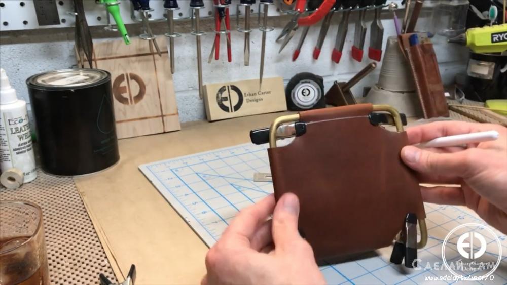 Кожаные часы своими руками