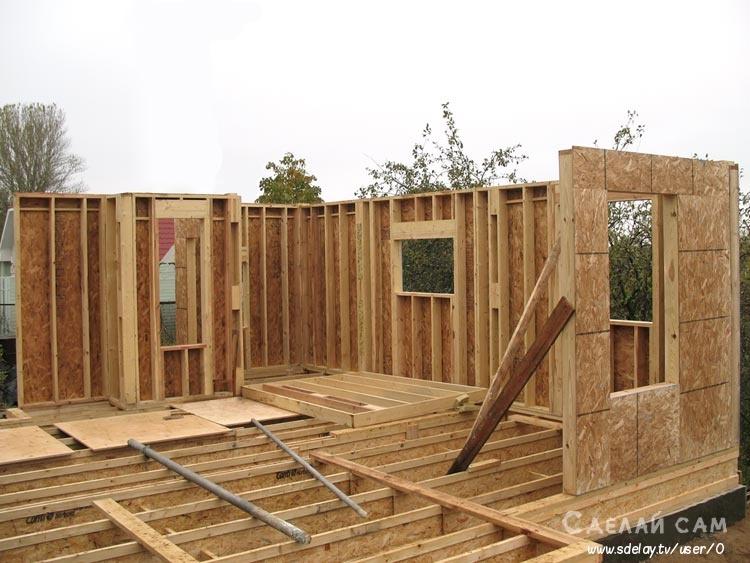Строительство щитового дома на даче: технология и особенности