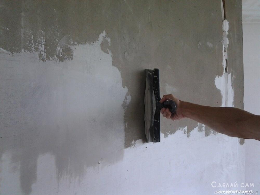 Как правильно ошпатлевать стену самостоятельно