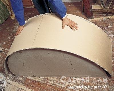 Как согнуть гипсокартон для арки: 3 способа!
