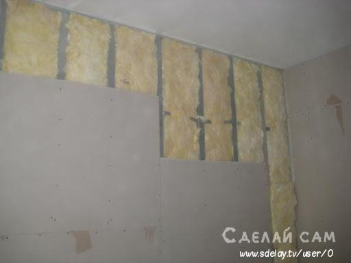 Как утеплить стены изнутри своими руками ?