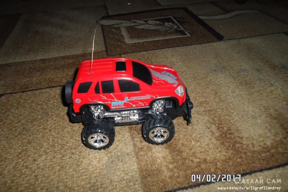 Переделка игрушки на радиоуправлении