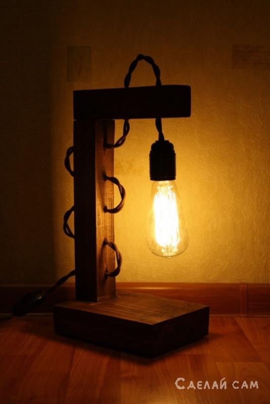 Необычные светильники своими руками фото 42