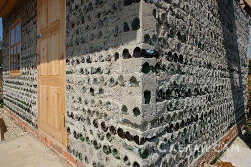 Бутылки в бетоне приготовление бетонных смесей это