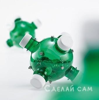 Копилка из пластиковых бутылок своими руками