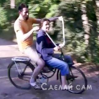 Абрамцевский пассажирский вело-кузнечик