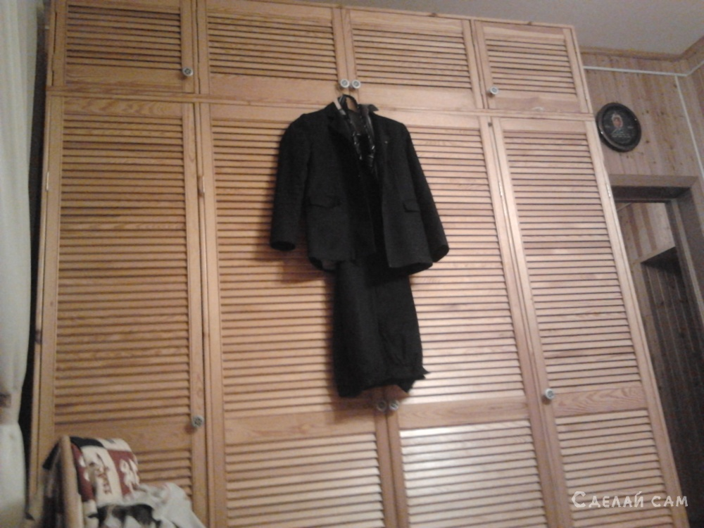 обустройство шкафа