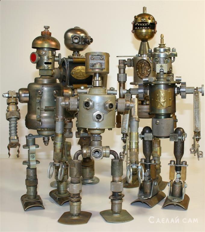 Роботы из хлама