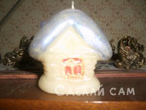 свеча Домик