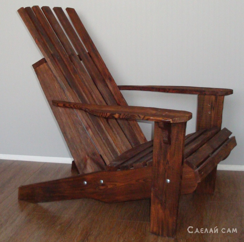 adirondack chair hand made