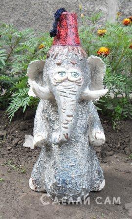 слон для сада Паташ.