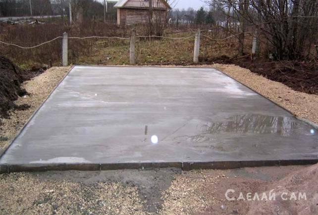 Заливка котлована бетоном керамзитобетон состав на 1м3 для стяжки