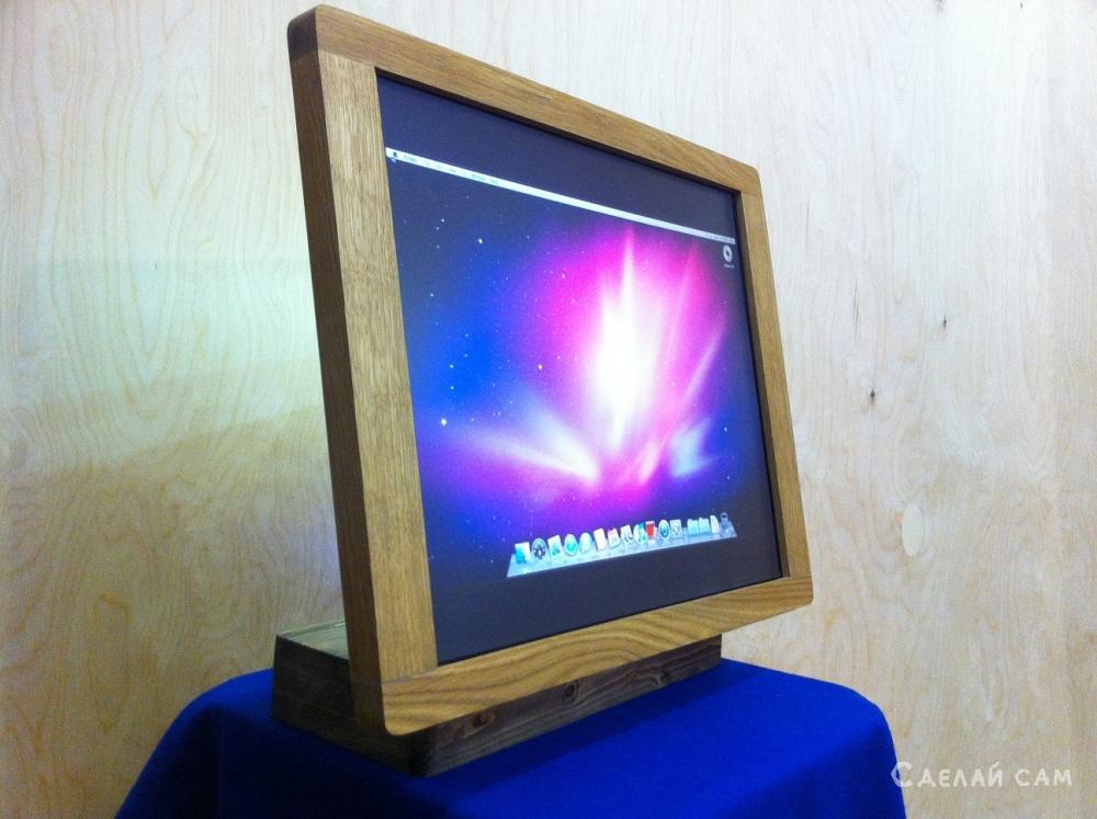 Проектор для домашнего кинотеатра своими руками 1 Монитор своими руками из коробки
