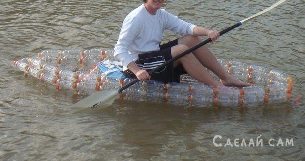 Как сделать лодку из бутылки своими руками 664